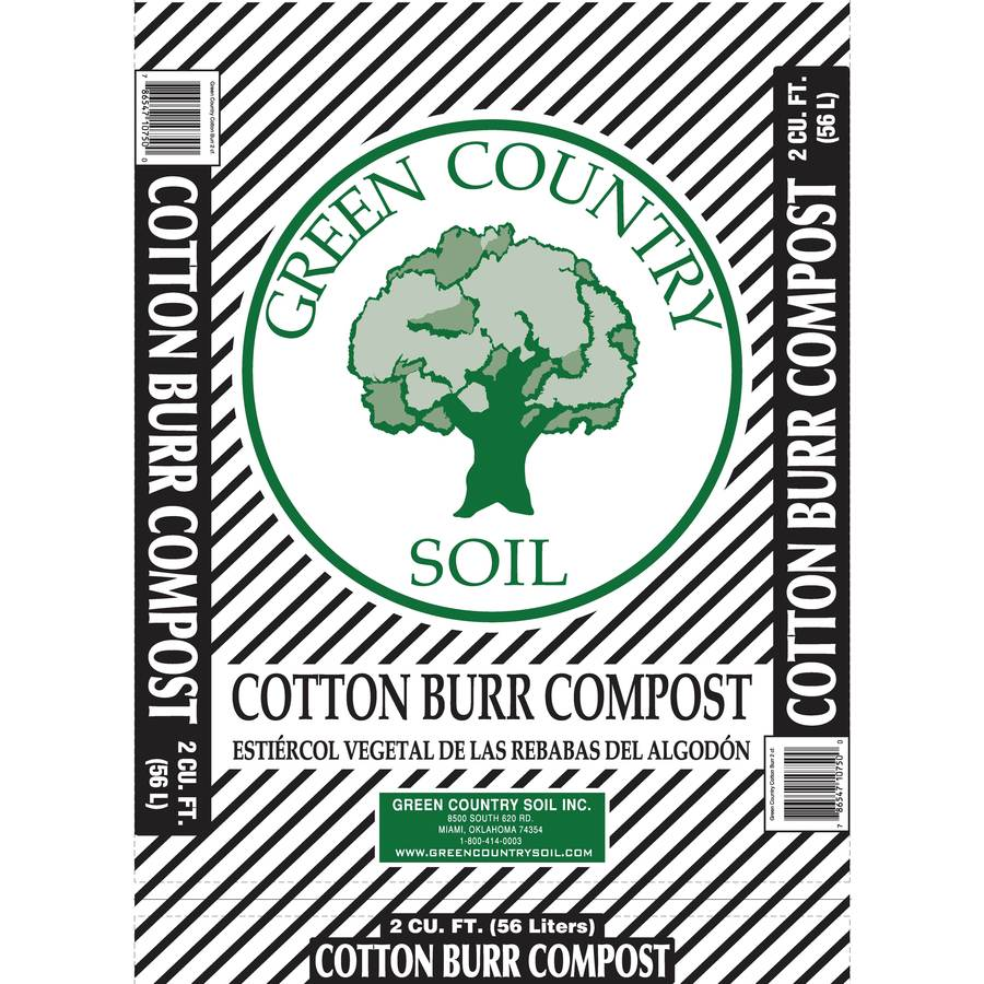 Green Country Soil Inc. 2-cu ft Compost