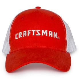 80923ae7ec8 CRAFTSMAN One Size Fits Most Men s Red Cotton Baseball Cap