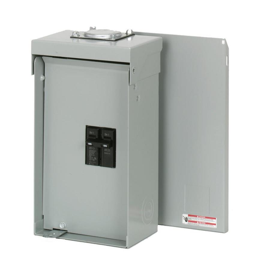 100 Amp Disconnect >> Eaton Type Br 2 Circuit 100 Amp Main Breaker Load Center At Lowes Com