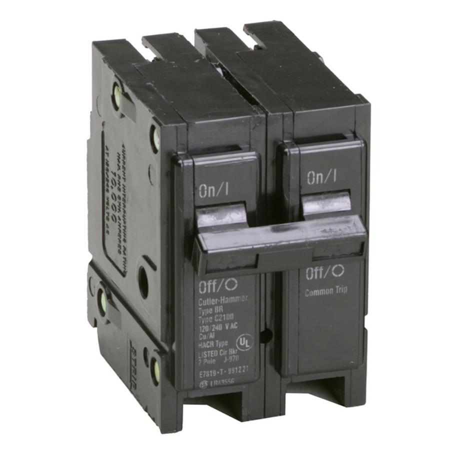 Eaton Type BR 15-Amp 2-Pole Double-Pole Circuit Breaker