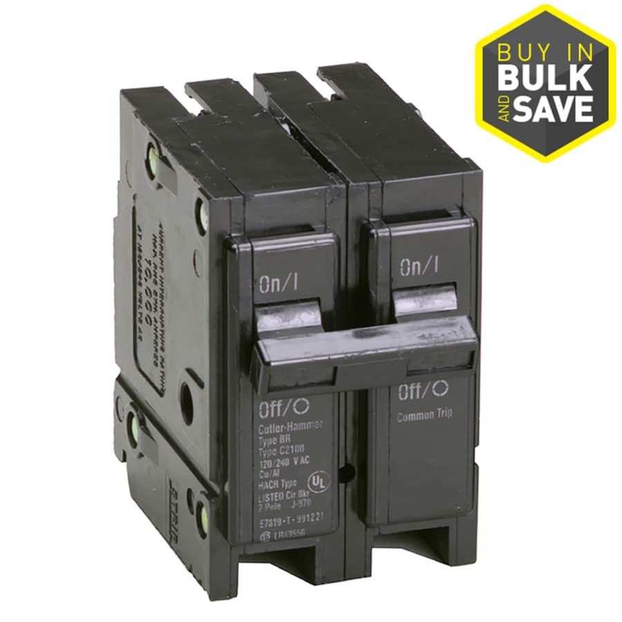 Eaton Type BR 30-Amp 2-Pole Double-Pole Circuit Breaker