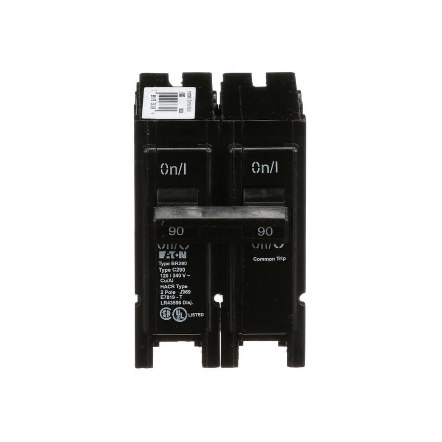 Eaton Type BR 90.0-Amp 2-Pole Double-Pole Circuit Breaker