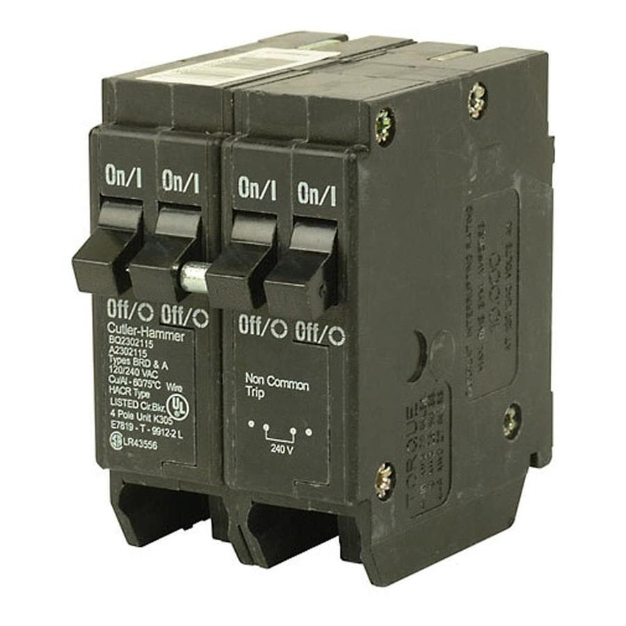 Eaton Type Br 40-Amp 4-Pole Quad Circuit Breaker