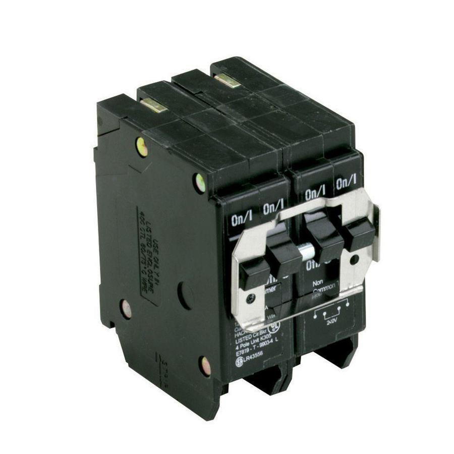 Eaton Type BR 20-Amp 4-Pole Quad Circuit Breaker