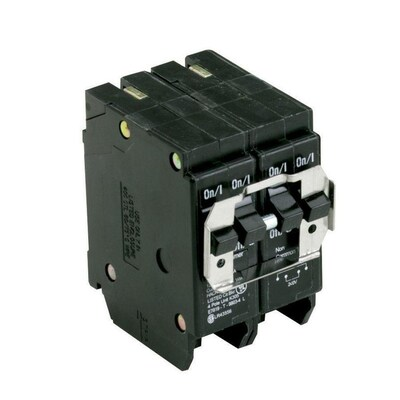 Eaton Type Br 20-Amp 4-Pole Quad Circuit Breaker at Lowes com