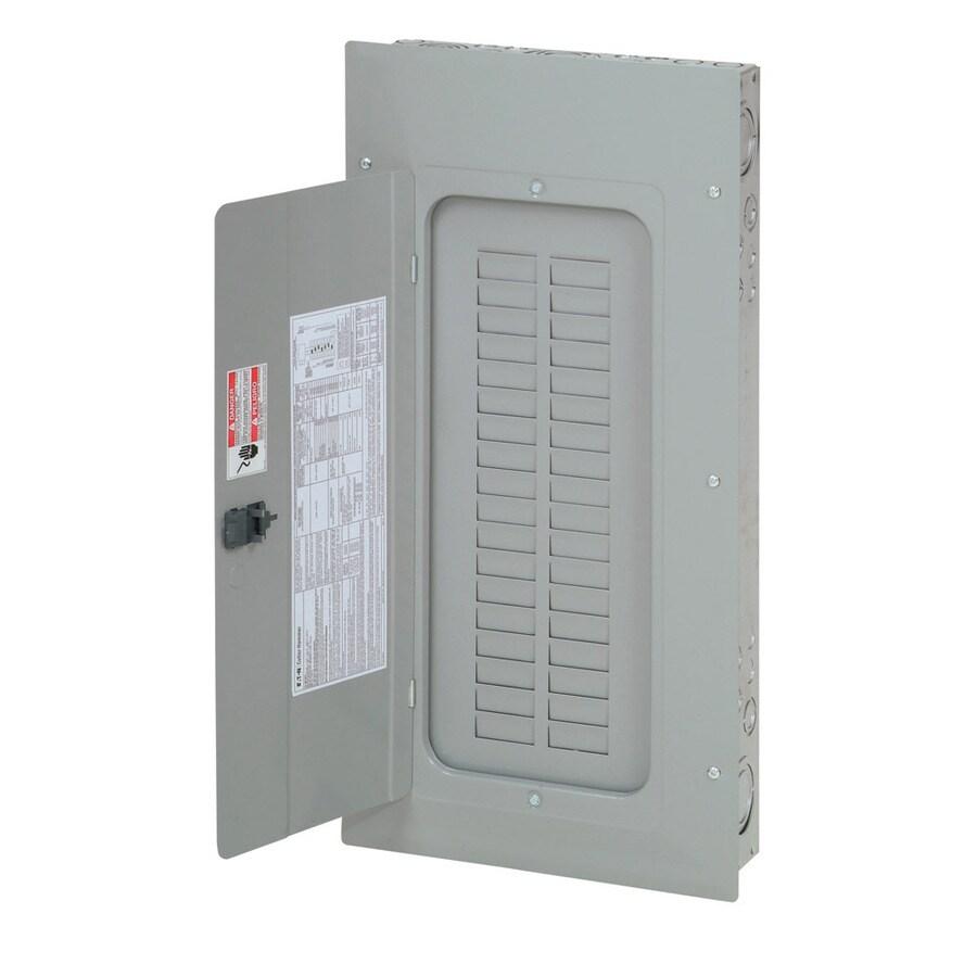 Eaton 30-Circuit 30-Space 100-Amp Main Lug Convertible Load Center