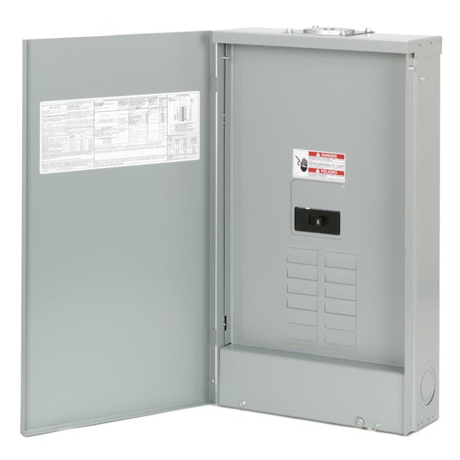 Eaton 16-Circuit 8-Space 200-Amp Main Breaker Load Center