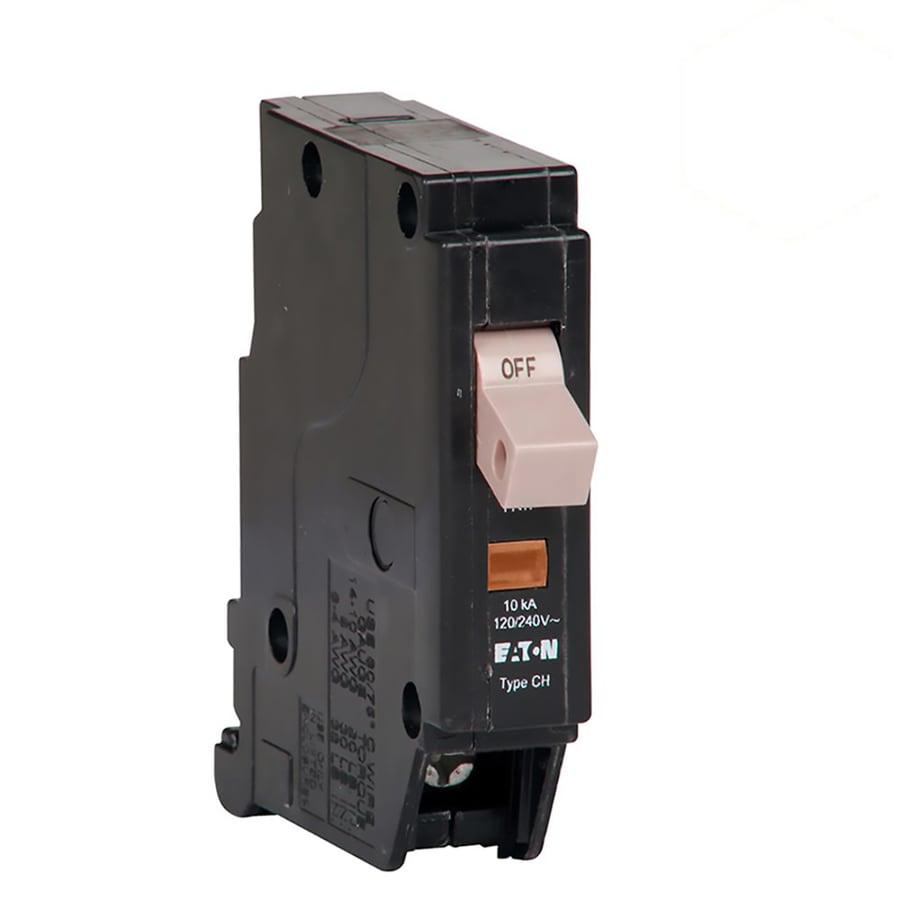 Eaton Type Ch 15-Amp 1-Pole Standard Trip Circuit Breaker
