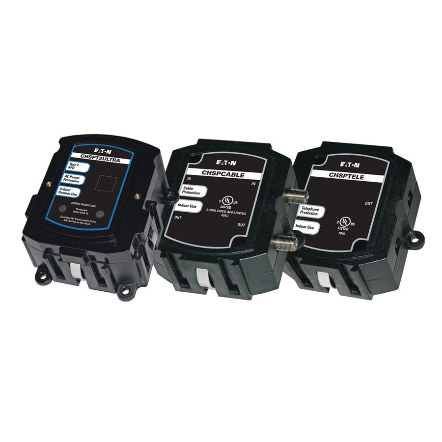 Eaton General Use Surge Protector (Auto-Off Safety)