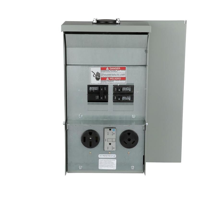 Shop Temporary Power Panels At Midwest Spa Disconnect Panel Wiring Diagram Eaton 50 Amp 30 20 Overhead Or Underground