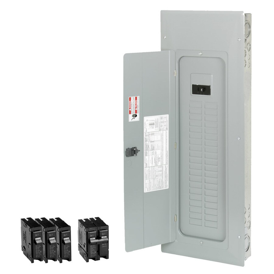 Shop Breaker Boxes At Challenger Home Fuse Box Eaton Type Br 50 Circuit 40 Space 200 Amp Main Load Center