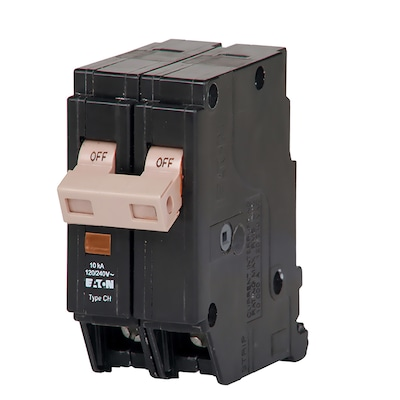 Type CH 50-Amp 2-Pole Standard Trip Circuit Breaker Wiring Amp Breaker on wiring 30 amp breaker, wiring main breaker panel, wiring 100 amp breaker, wiring gfci circuit breaker,