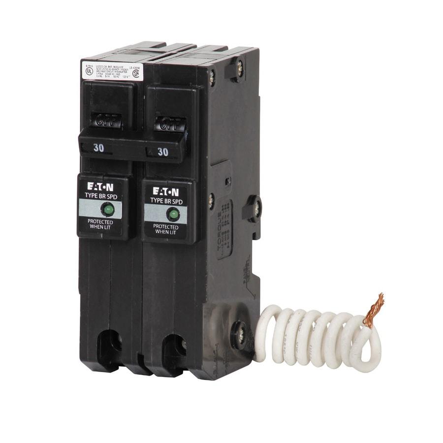 Eaton Type Br 30-Amp 2-Pole Standard Trip Circuit Breaker