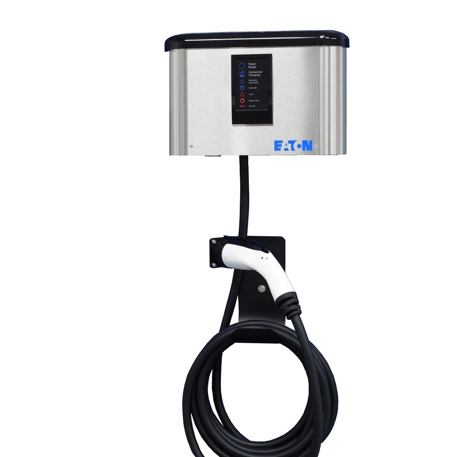Eaton Level 2 16.0-Amp Wall Mounted Single Electric Car Charger