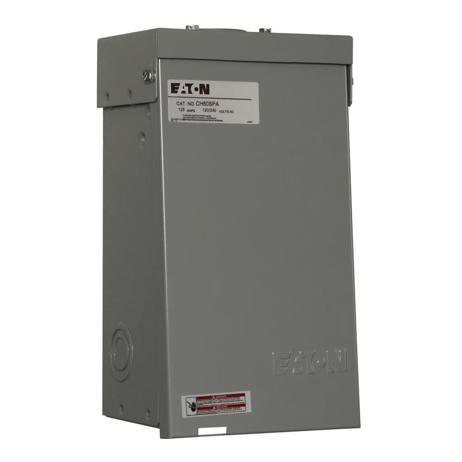 breaker box safety switches at lowes comeaton 60 amp metallic spa