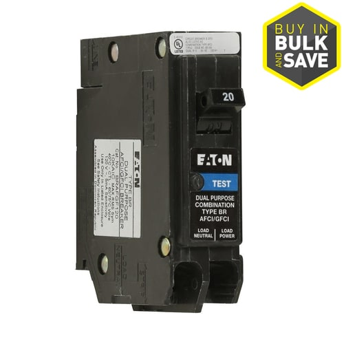 Eaton Type Br 20 Gfci Circuit Breaker At Lowes Com