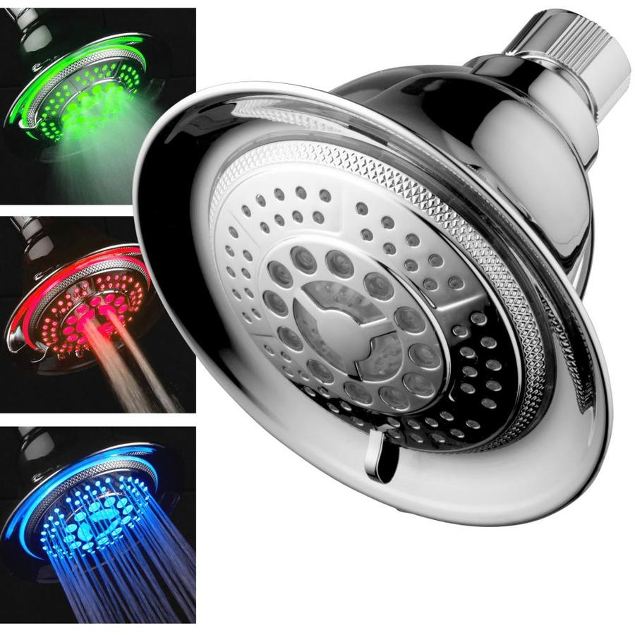 Dreamspa Chrome 5 Spray Shower Head At Lowes Com