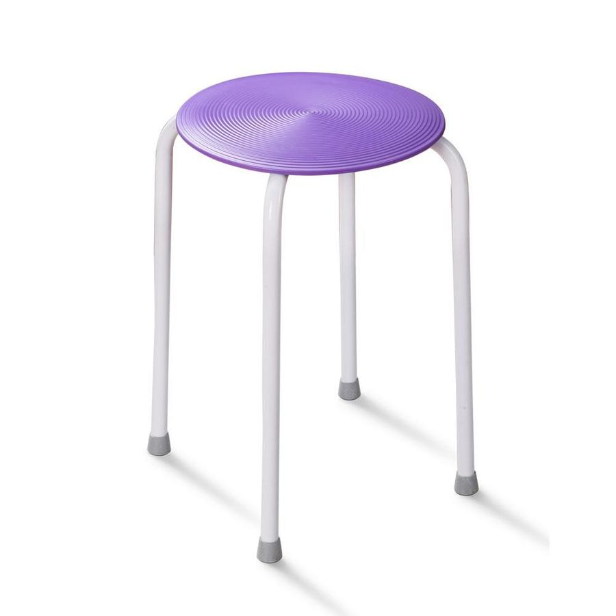 HotelSpa Purple Composite Freestanding Shower Seat