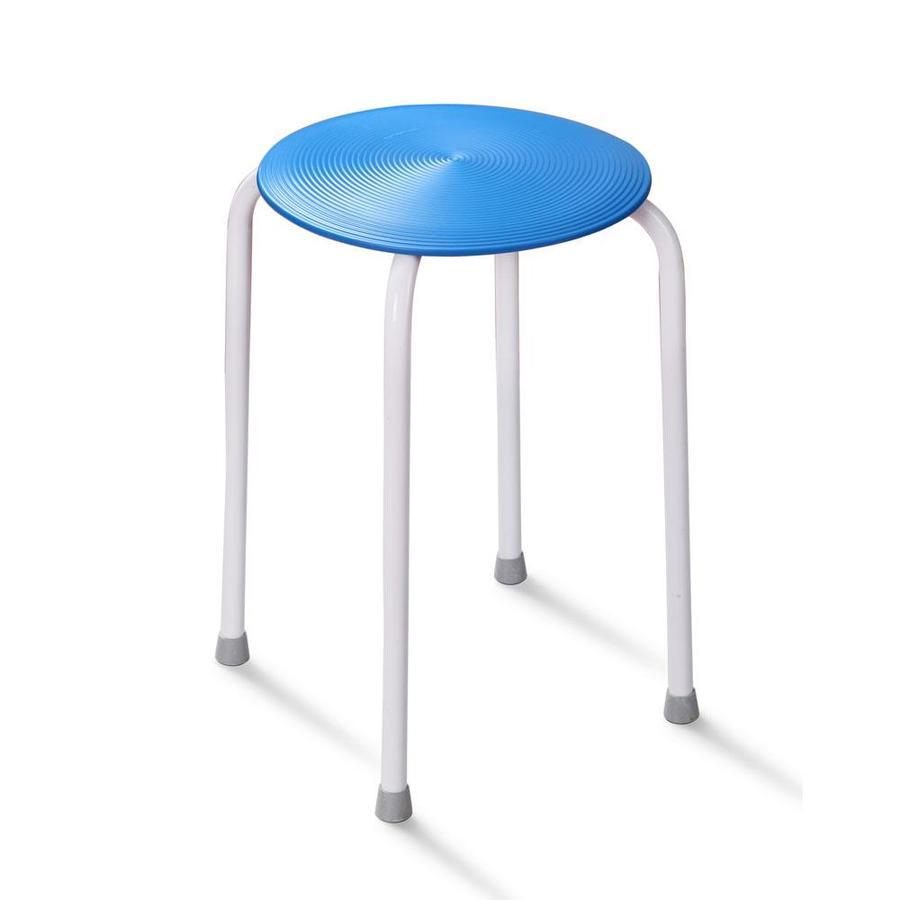 HotelSpa Blue Composite Freestanding Shower Seat