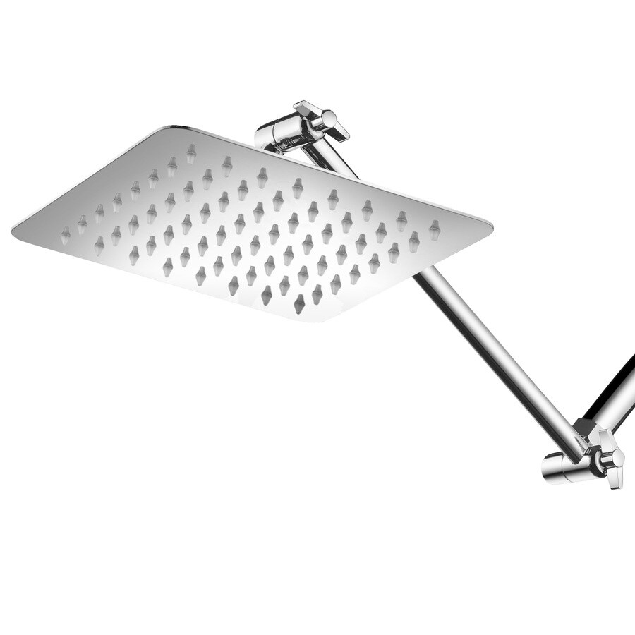 HotelSpa 8.0-in 2.5-GPM (9.5-LPM) Chrome 1-Spray Rain Showerhead