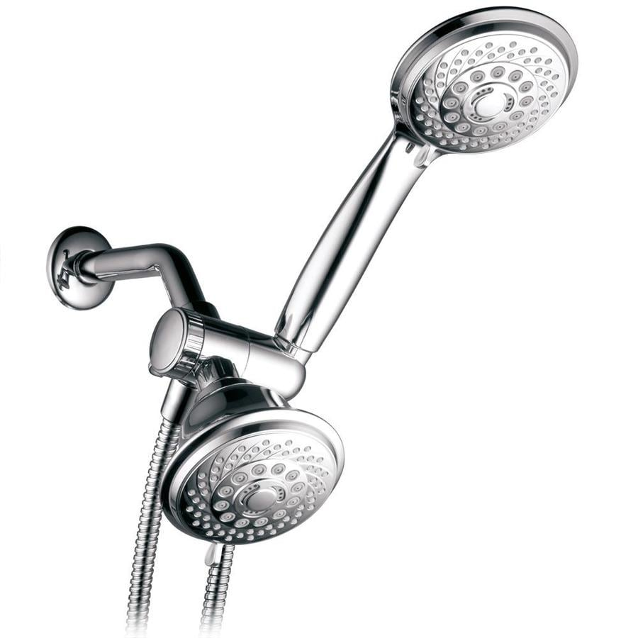 HotelSpa 4-in Chrome Showerhead with Hand Shower