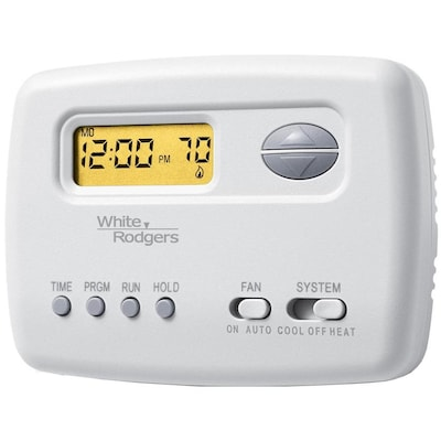 White-Rodgers 5-2 Day Programmable Thermostat at Lowes com