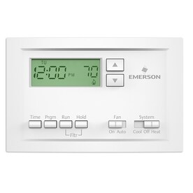 Lux 5-2 Day Programmable Thermostat at Lowes com