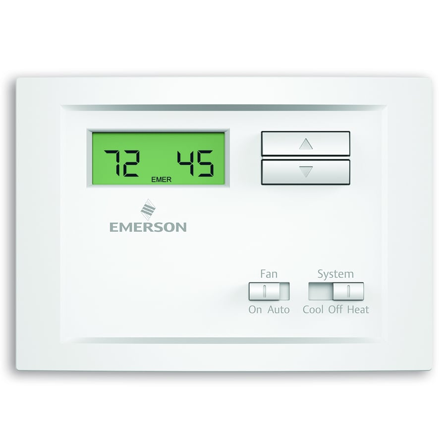 Emerson Electronic Non-Programmable Thermostat