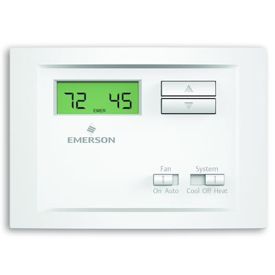 Electronic Non-Programmable Thermostat on