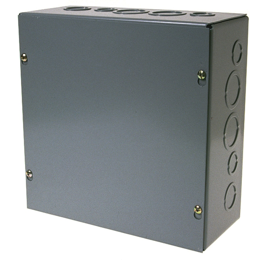WIEGMANN Gray Steel Interior New Work/Old Work Standard Enclosure Celing/Wall Electrical Box