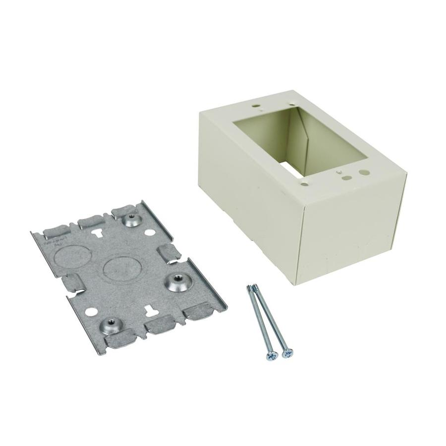 Wiremold 500 700 Ivory Raceway Electrical Box At Lowes Com