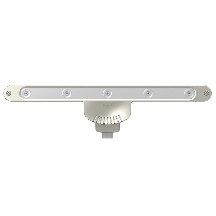 Legrand adorne Titanium 9.97-in Light Bar Under Cabinet Power System Lighting