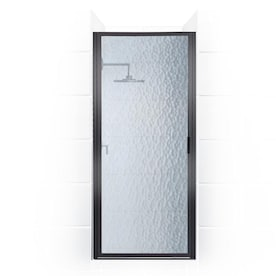 Coastal Shower Doors Paragon 82 In H X 34 In To 34 75 In W Framed Hinged Chrome Shower Door Clear Glass In The Shower Doors Department At Lowes Com