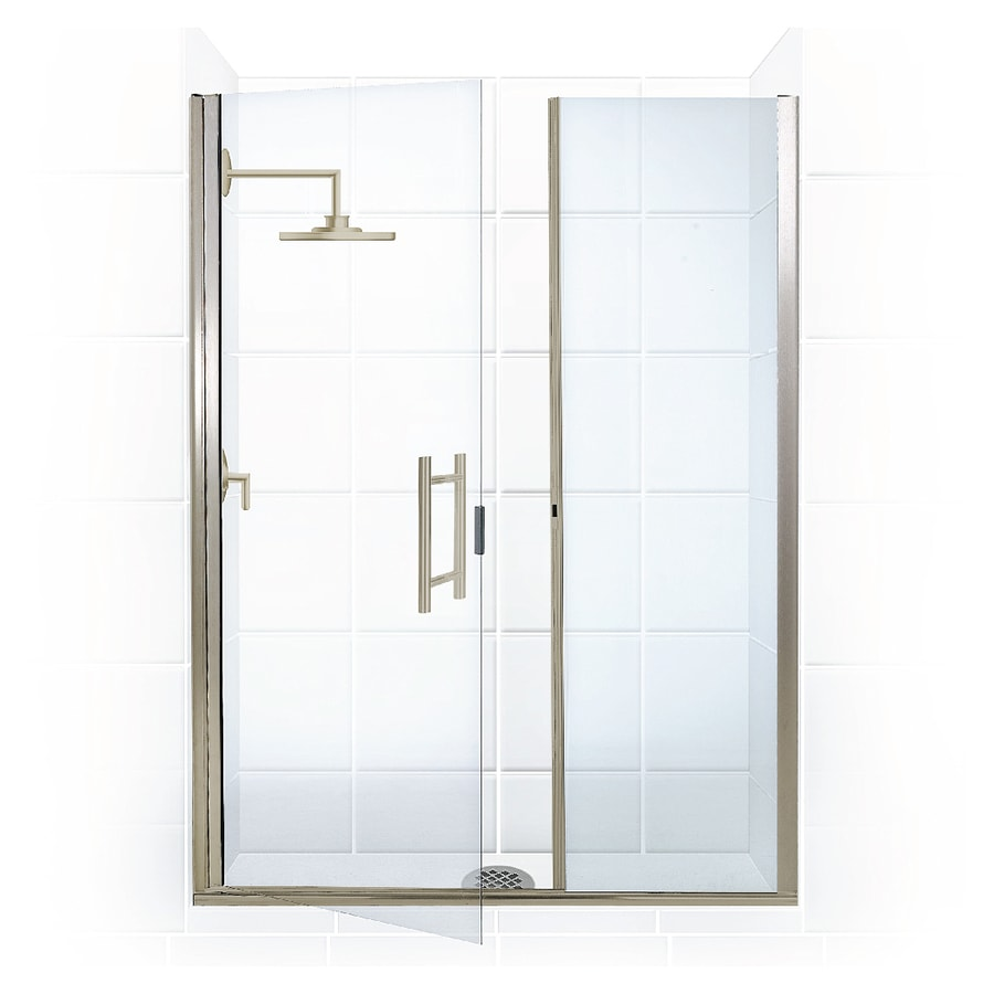 Shop Coastal Shower Doors Illusion Series 57.75-in to 59.0-in ...