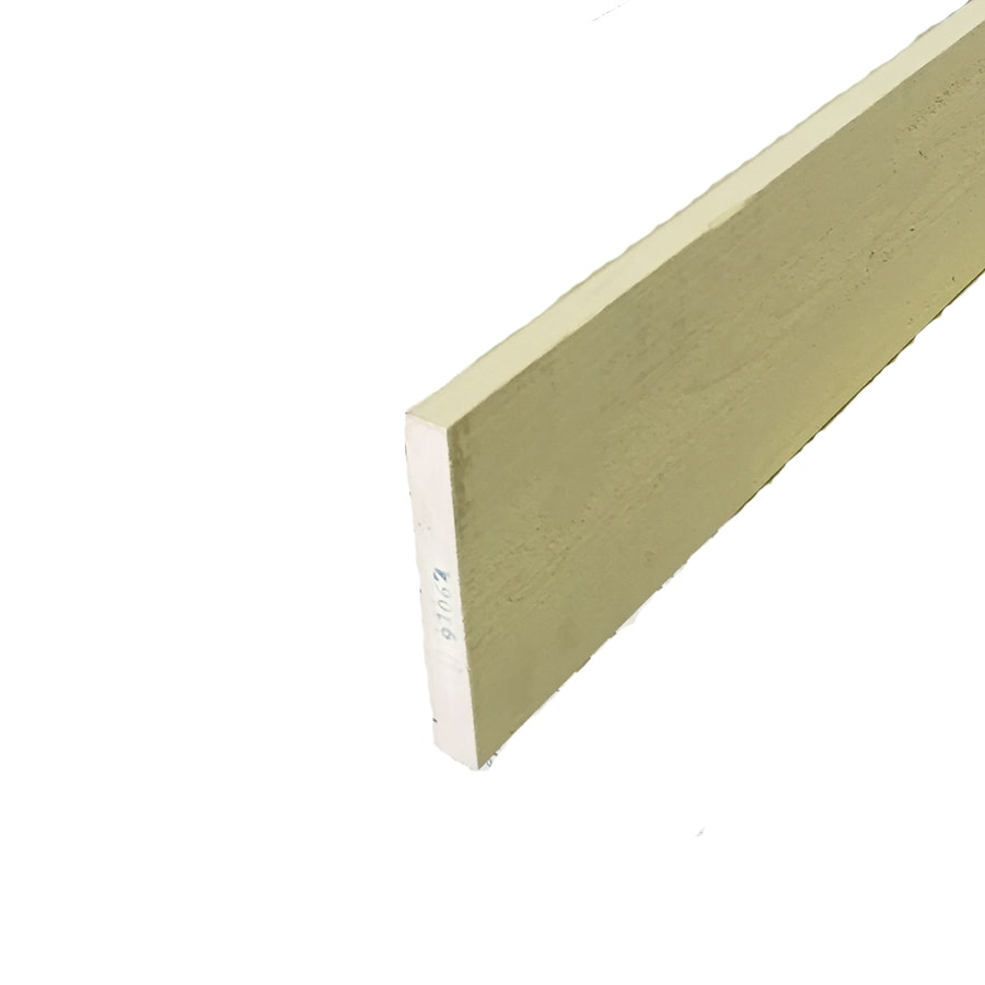 Woodtone (Common: 1-in x 6-in x 10-ft; Actual: 0.625-in x 5.4375-in x 10-ft) Forest Trim Finger Joint Primed Cypress Board