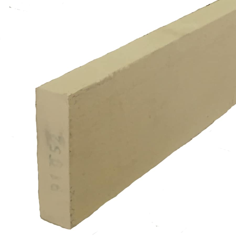 Woodtone (Common: 1-1/4-in x 4-in x 10-ft; Actual: 1-in x 3.4375-in x 10-ft) Forest Trim Finger Joint Primed Cypress Board