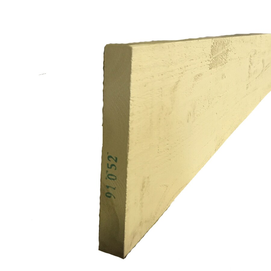 Woodtone (Common: 1-in x 8-in x 10-ft; Actual: 0.625-in x 7.1875-in x 10-ft) Forest Trim Finger Joint Primed Cypress Board