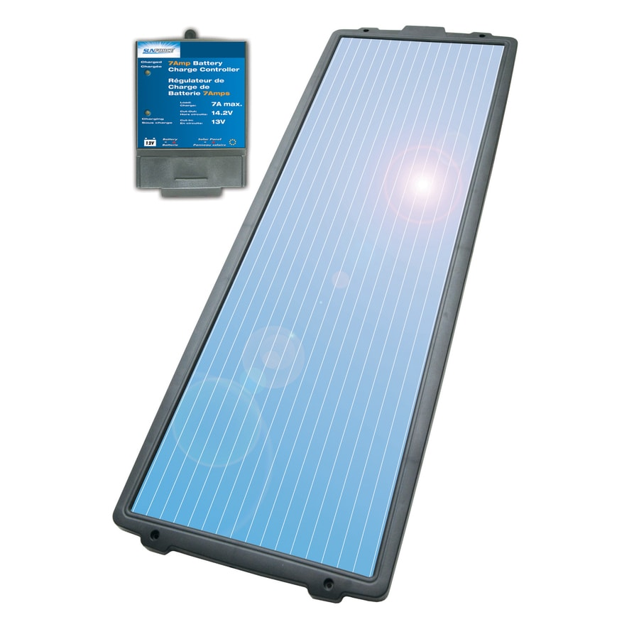 Sunforce 38-in x 13-1/2-in x 1-1/2-in 15-Watt Portable Solar Panel