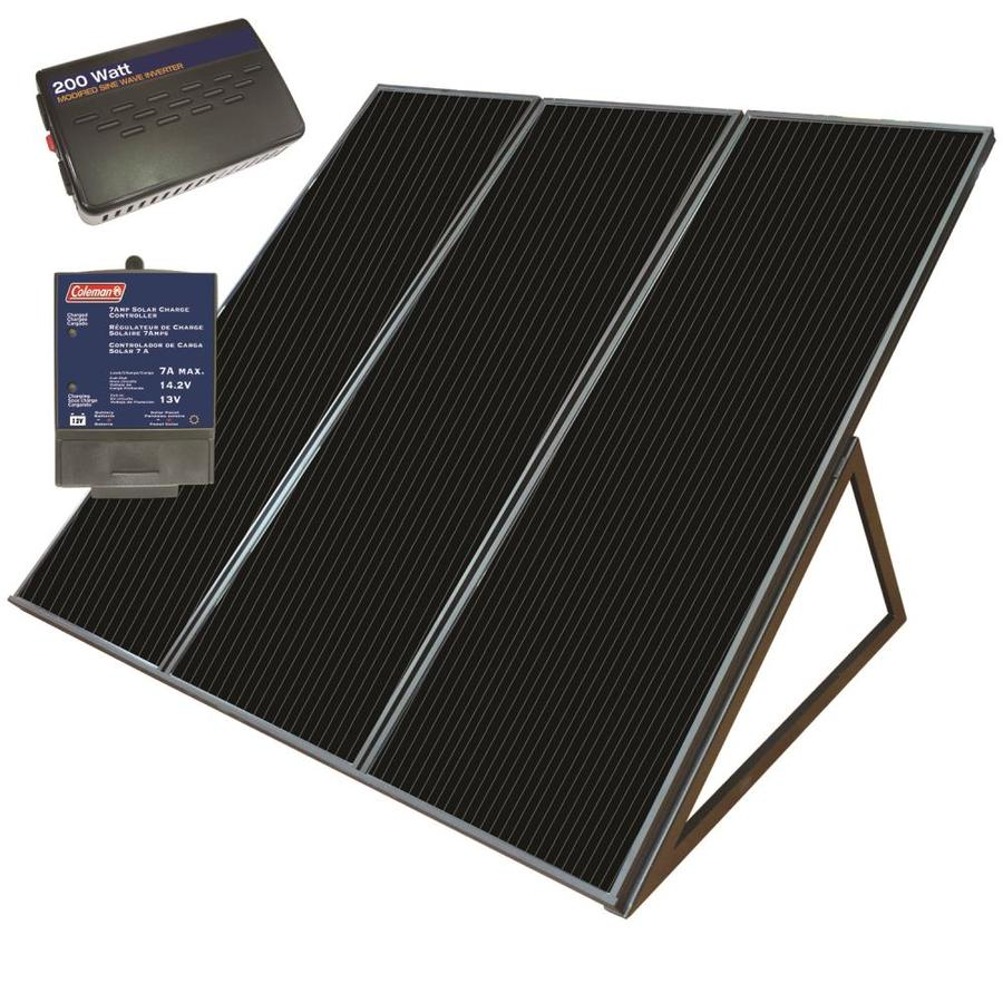 Shop Coleman 32 In X 38 In X 21 In 55 Watt Portable Solar