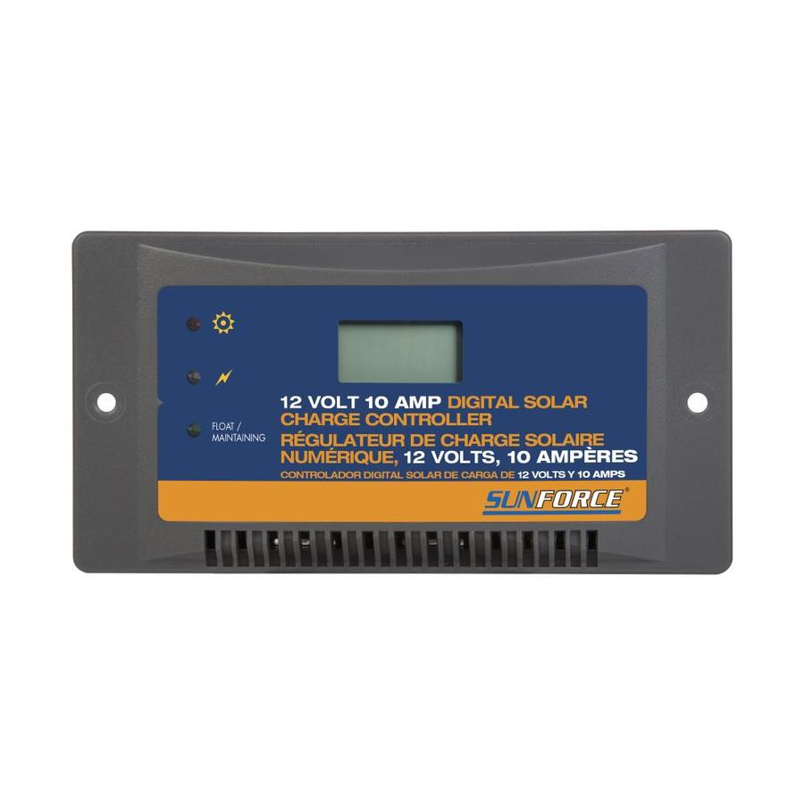 Shop Charge Controllers At Fan Control Switches Aubuchon Hardware Sunforce 10 Amp Controller