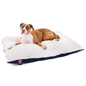 """Majestic Pet Pillow Dog Bed - Blue - L - 36""""x48"""""""