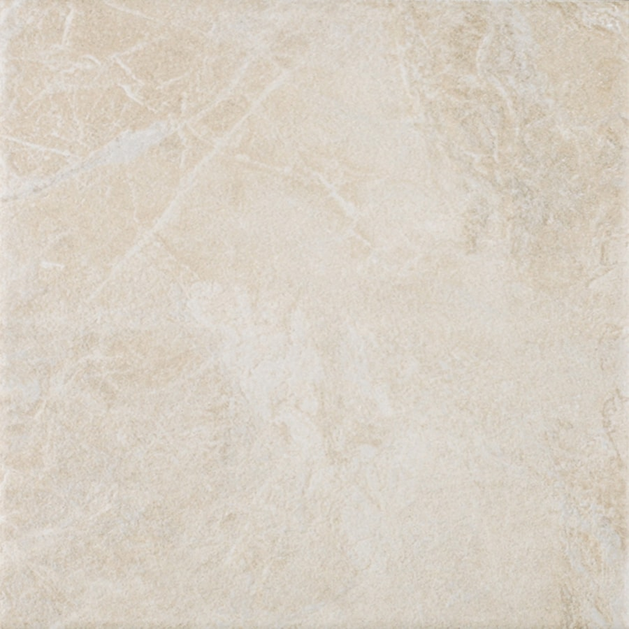 FLOORS 2000 6-Pack Oriente Beige Glazed Porcelain Indoor/Outdoor Floor Tile (Common: 18-in x 18-in; Actual: 17.75-in x 17.75-in)