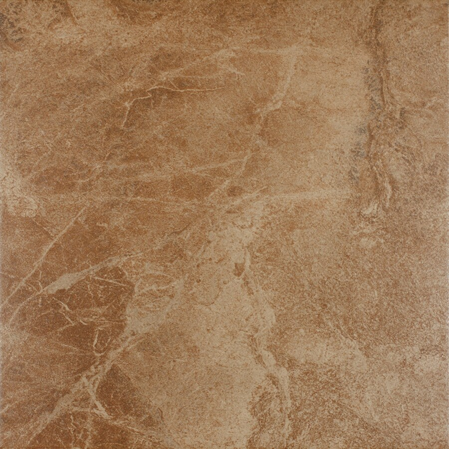 FLOORS 2000 Oriente 6-Pack Gold Porcelain Floor and Wall Tile (Common: 18-in x 18-in; Actual: 17.75-in x 17.75-in)