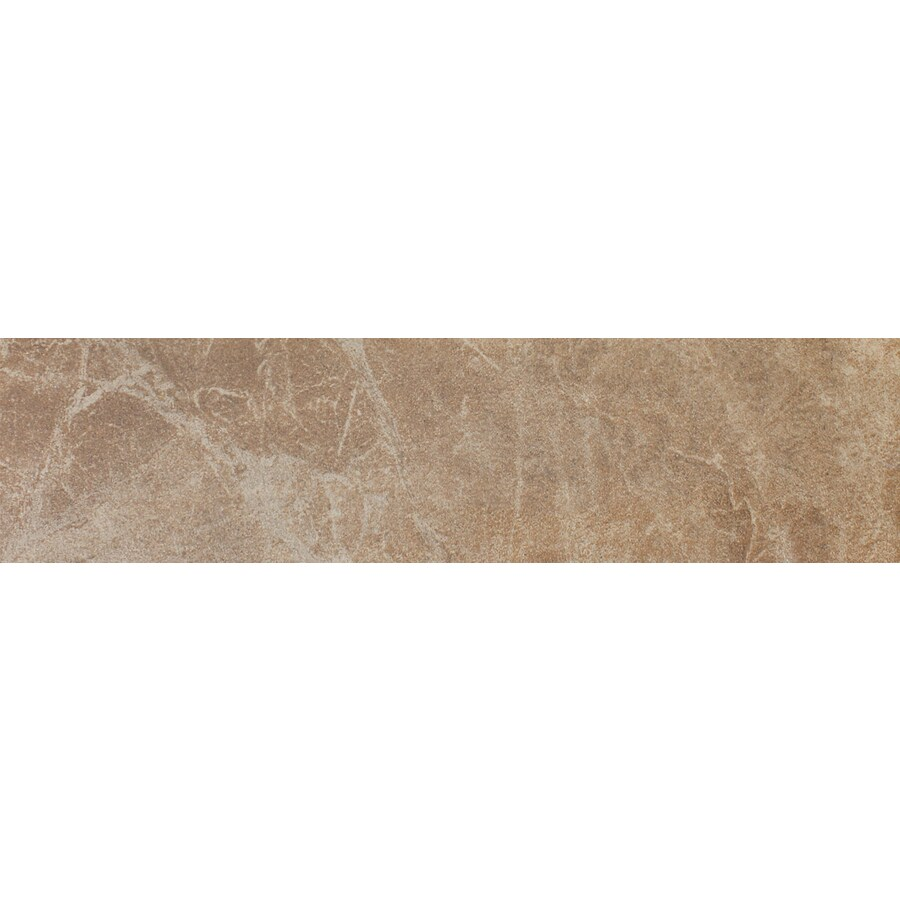 FLOORS 2000 Oriente Gold Porcelain Bullnose Tile (Common: 3-in x 18-in; Actual: 3-in x 17.75-in)