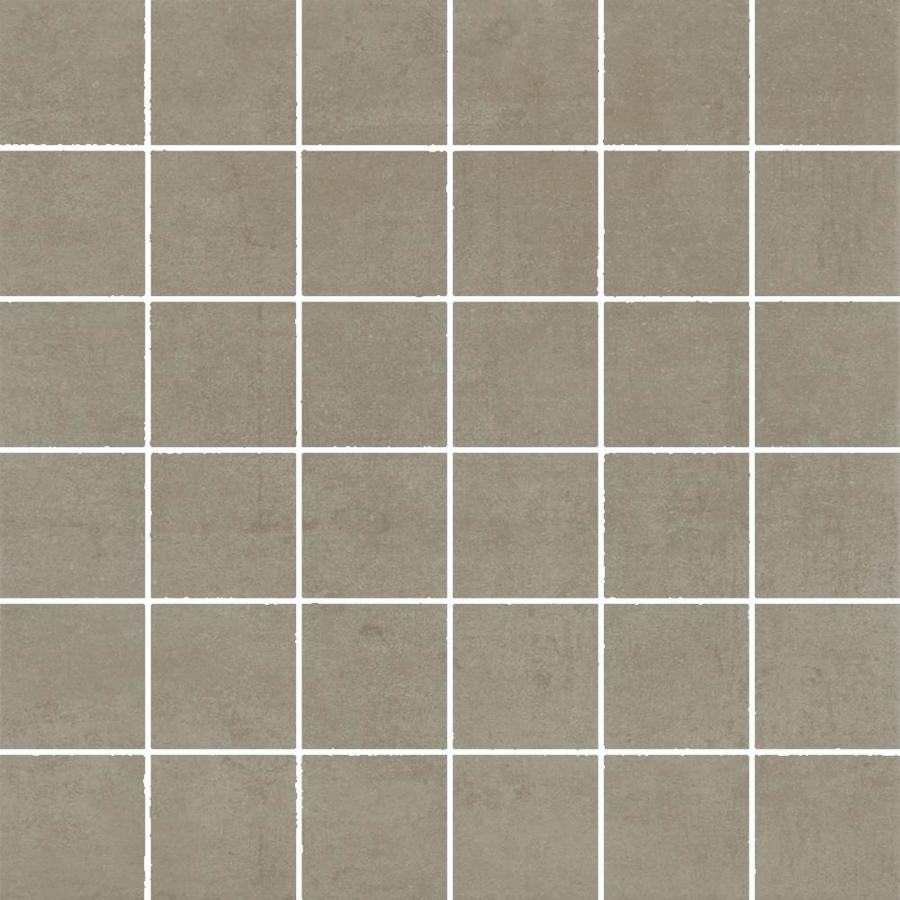 FLOORS 2000 Element Taupe Uniform Squares Mosaic Porcelain Floor and Wall Tile (Common: 12-in x 12-in; Actual: 11.81-in x 11.81-in)