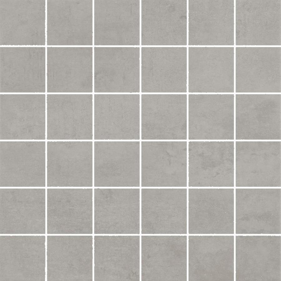 FLOORS 2000 Element Gray Uniform Squares Mosaic Porcelain Floor and Wall Tile (Common: 12-in x 12-in; Actual: 11.81-in x 11.81-in)