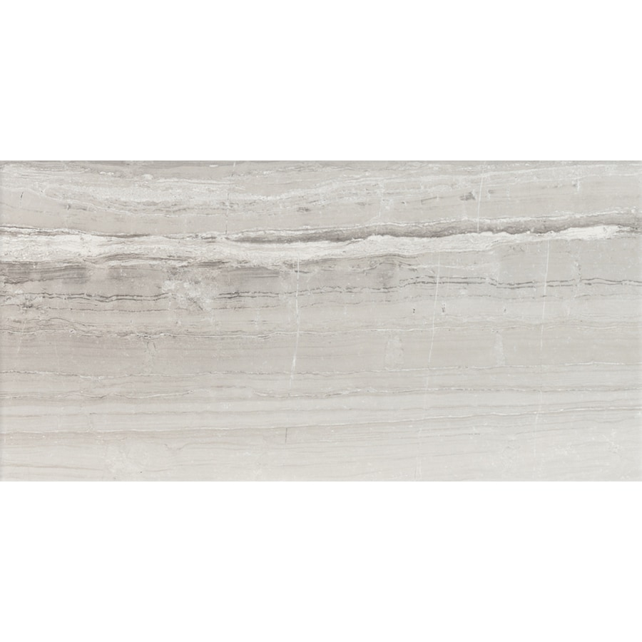 FLOORS 2000 Tiger 8-Pack Silver Porcelain Floor and Wall Tile (Common: 12-in x 24-in; Actual: 23.86-in x 11.85-in)