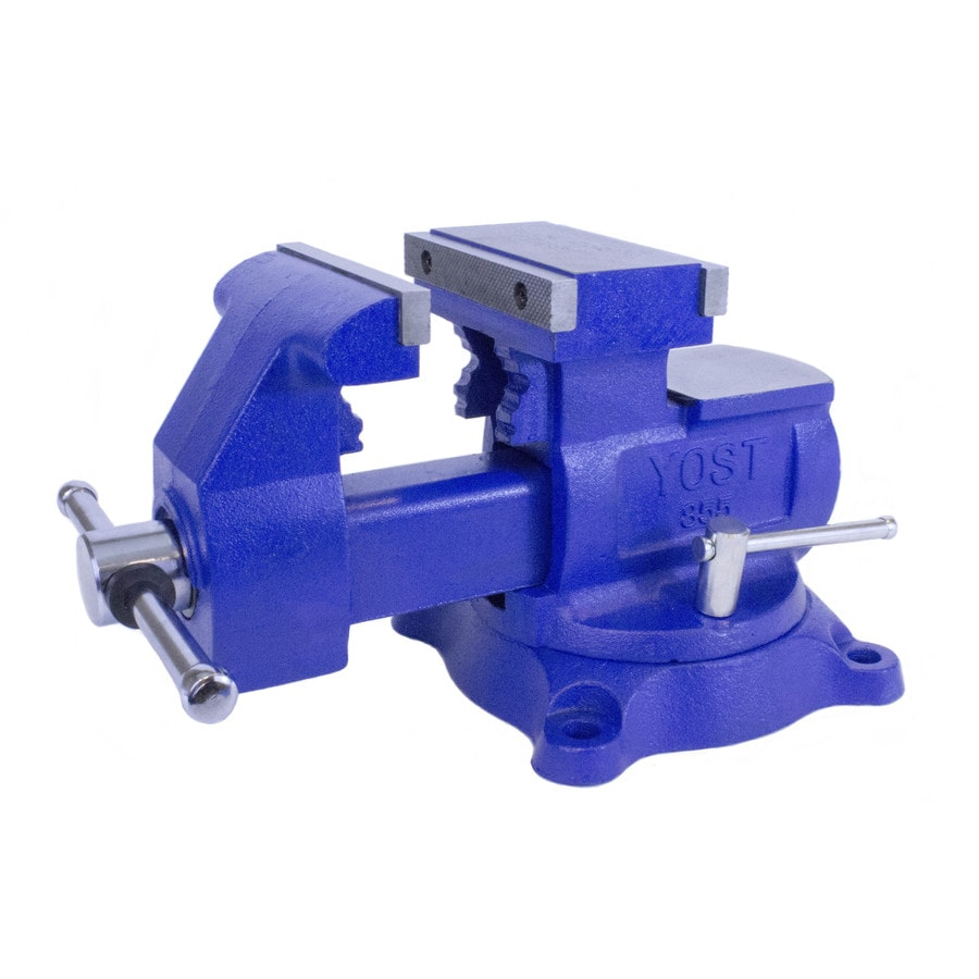 Yost 5.5-in Cast Iron Vise