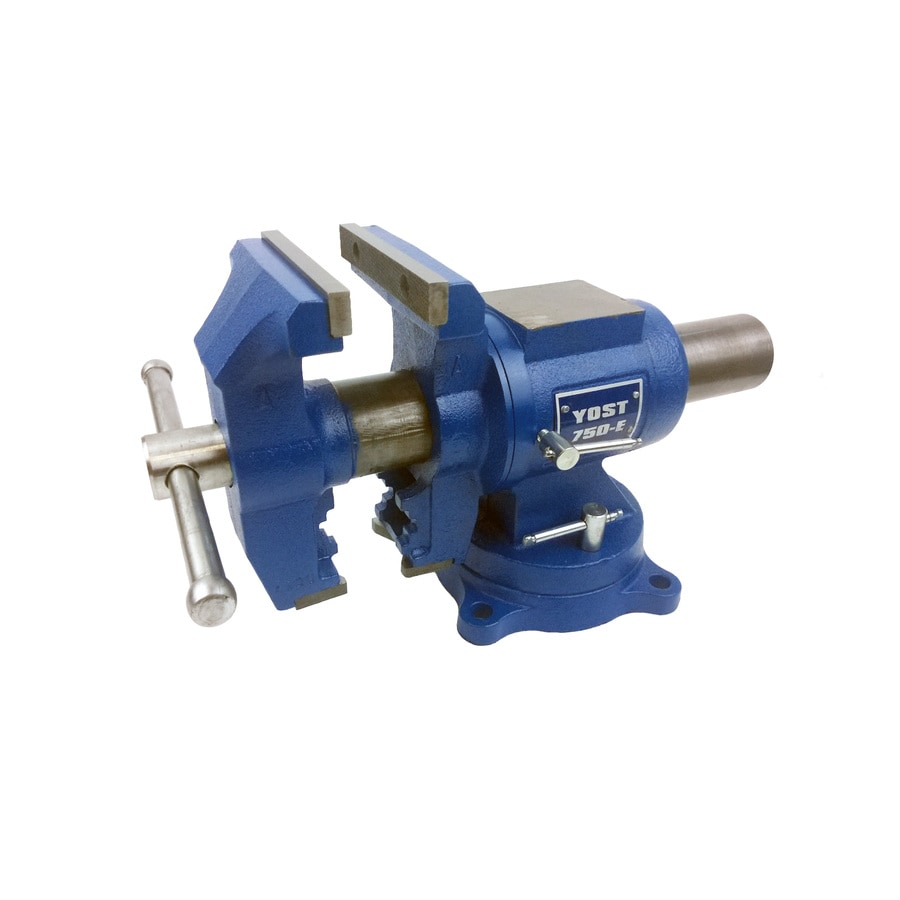 Yost 5-in Cast Iron Vise