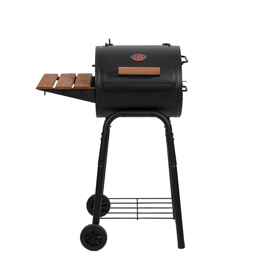 Char-Griller 18.5-in Barrel Charcoal Grill